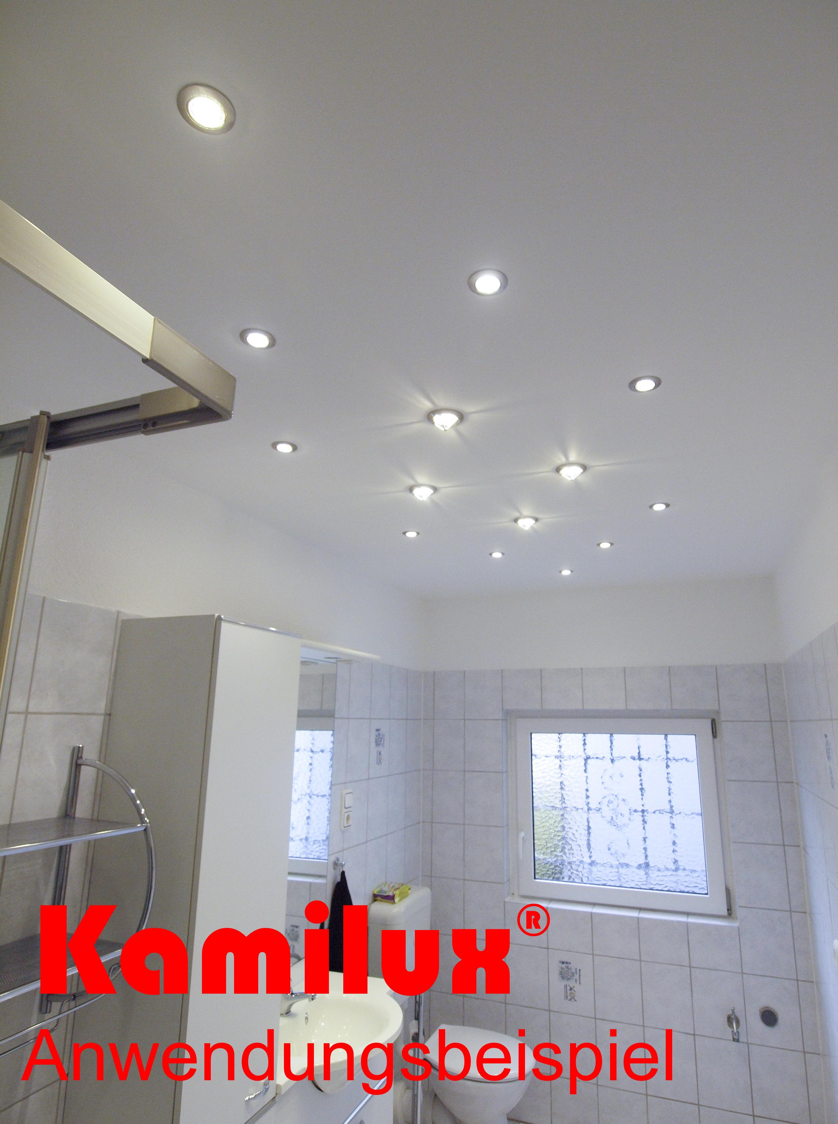 20 x LED Lichtpunkte Sternenhimmel LED Strahler LED Spots 20V IP20  wasserdicht +LED Steckernetzgerät